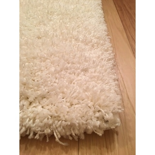 Safavieh California Cozy Plush Milky White Shag Rug