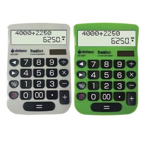 (2 Ea) 2 Line Trackback Desktop Calculator
