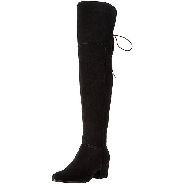 Aldo Womens jeffres Fabric Almond Toe Over Knee Fashion Boots