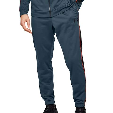 Under Armour Mens Unstoppable Track Pant Slate Blue Size XL Loose Jogger