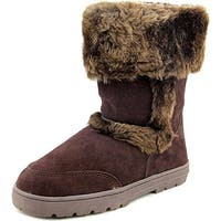 Style & Co. Womens Witty Leather Closed Toe Mid-Calf Cold Weather Boots