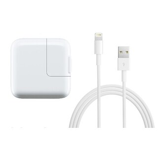 Apple 12W USB Fast Power Adapter with 1 Meter Lightning Cable for iPhone & iPad