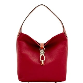 Dooney & Bourke Pebble Grain Small Logo Lock Shoulder Bag (Introduced by Dooney & Bourke at $248 in Jul 2017) - CRANBERRY|https://ak1.ostkcdn.com/images/products/is/images/direct/82e9185cba39e38d54ca77a037171c49e892e8e3/Dooney-%26-Bourke-Pebble-Grain-Small-Logo-Lock-Shoulder-Bag-%28Introduced-by-Dooney-%26-Bourke-at-%24248-in-Jul-2017%29.jpg?impolicy=medium