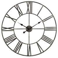 "Aspire Home Accents 5155 Solange 30"" Diameter Oversized Analog Wall Mounted Clock"