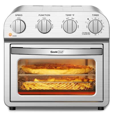 4 Slice Toaster Convection Air Fryer Oven Warm,Broil, Toast, Bake