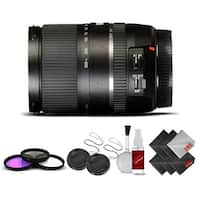 Tamron 16-300 f/3.5-6.3 Di II VC SN International Version (No Warranty) Base Kit - Black
