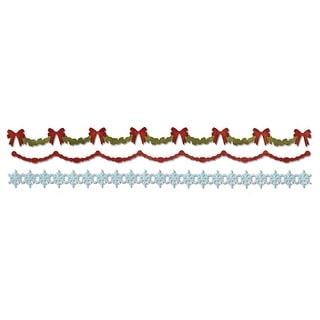 """Sizzix Sizzlits Decorative Strip Die By Tim Holtz-Garlands 12.625""""X2.375"""""""