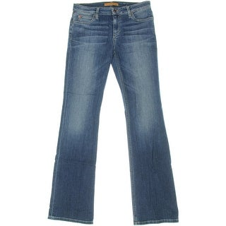 Joe's Jeans Womens The Honey Bootcut Curvy Japanese Denim Jeans