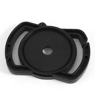 Unique Bargains 43mm-55mm Plastic DSLR Camera Buckle Lens Cap Holder for Canon