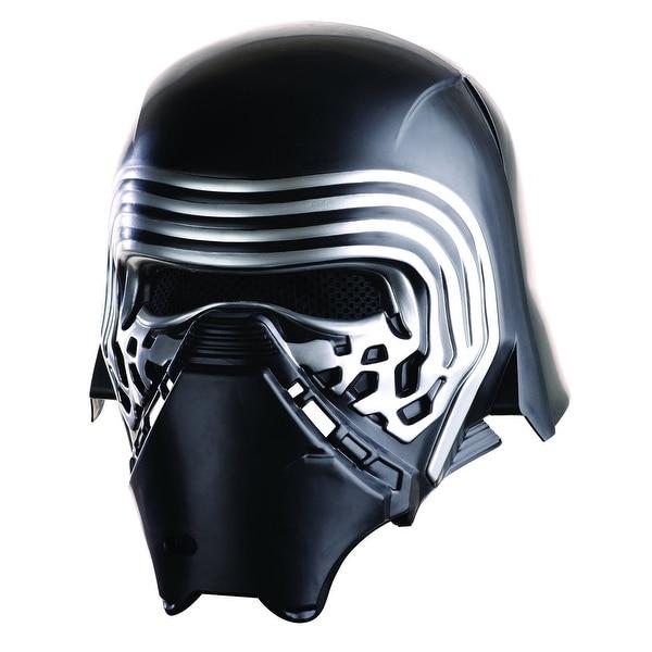 Star Wars The Force Awakens Child Costume Accessory Kylo Ren 2-Piece Helmet - Black