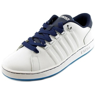 K-Swiss Lozan Youth Round Toe Leather Sneakers