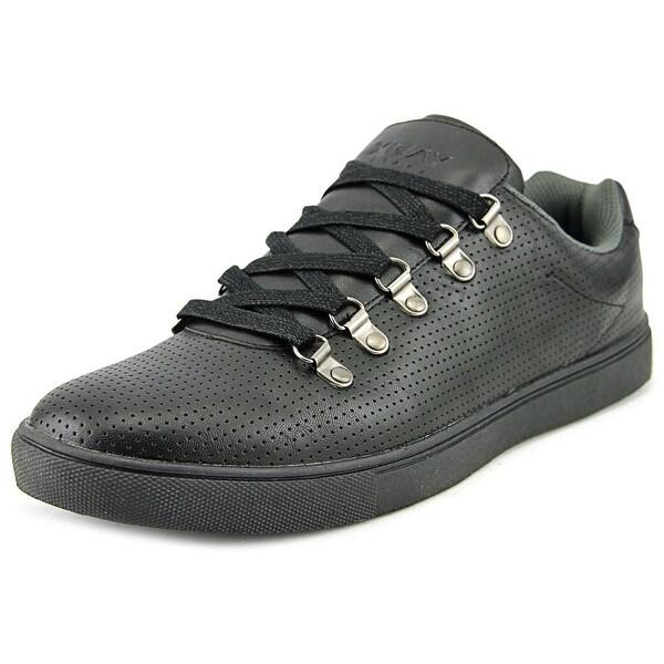 XRay Ridge Men Round Toe Synthetic Black Walking Shoe