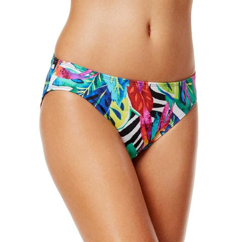 Ralph Lauren Rainforest Print Hipster Bikini Bottom Multi Womens Swimsuit
