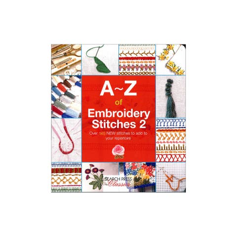 9781782211693 search press a-z of embroidery stitches 2 bk