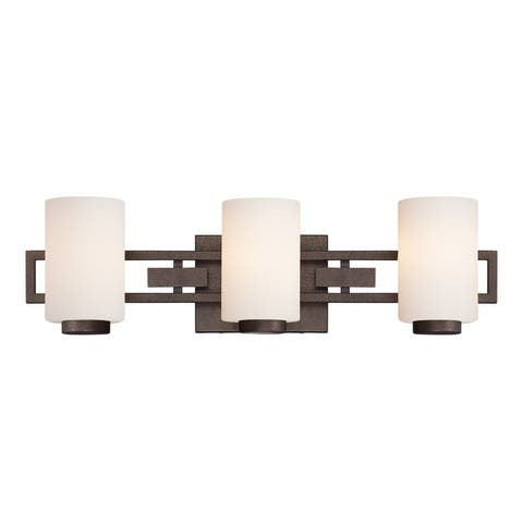 Designers Fountain 83803 3 Light Bathroom Fixture from the Del Ray