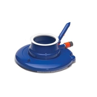 """15"""" Leaf Eater with 3 Swivel Wheels and Brushes Underwater Swimming Pool Vacuum Cleaner - Blue"""