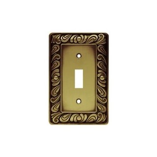 Franklin Brass 64049 Paisley Series Single Wall Plate