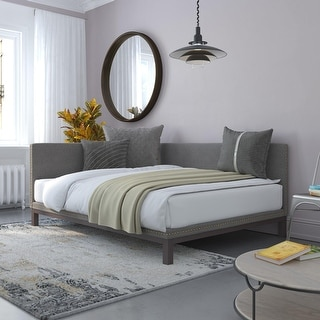 Link to Avenue Greene Dayton Full-size Upholstered Daybed Similar Items in Bedroom Furniture