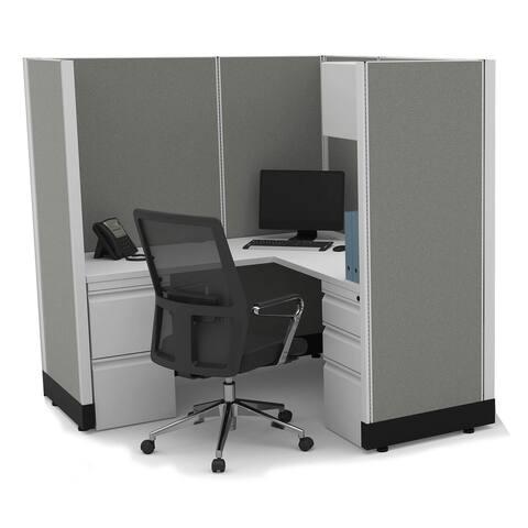 Modular Office Desk Furniture 67H unpowered