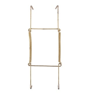 Link to Metal 7.5 to 9 Inch Spring Plate Hangers Wall Rack Holder Hook Display - Gold Tone Similar Items in Kitchen Storage