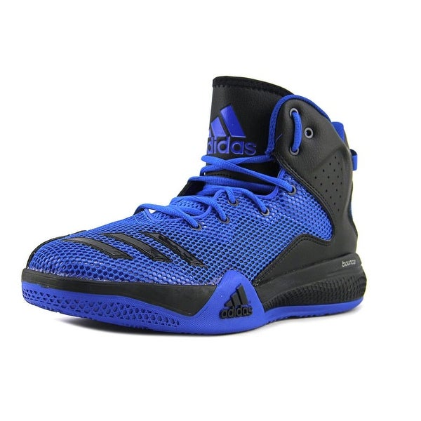 Adidas Dt Bball Mid Men Round Toe Synthetic Blue Basketball Shoe
