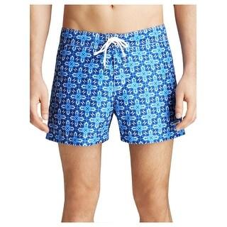 Parke and Ronen Swim Trunks Size 36 Waist BYZ Cobalt Blue Water Short
