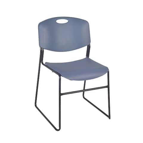 Zeal Stack Chair- Blue