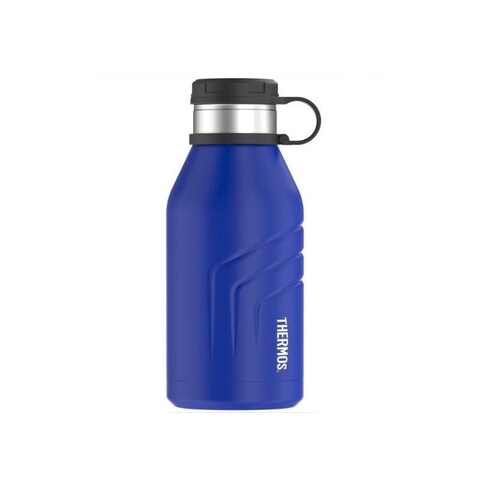 Thermos Element5 Vacuum Insulated Beverage Bottle with Screw Top Lid (32oz/ Blue)