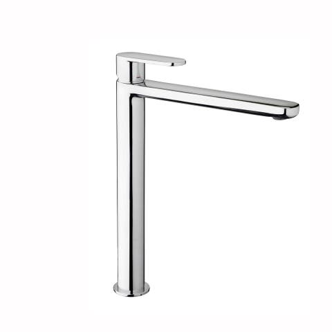 WS Bath Collections Candy CA 081 Candy Single Handle Deck Mounted Vessel Bathroom Faucet - Polished Chrome