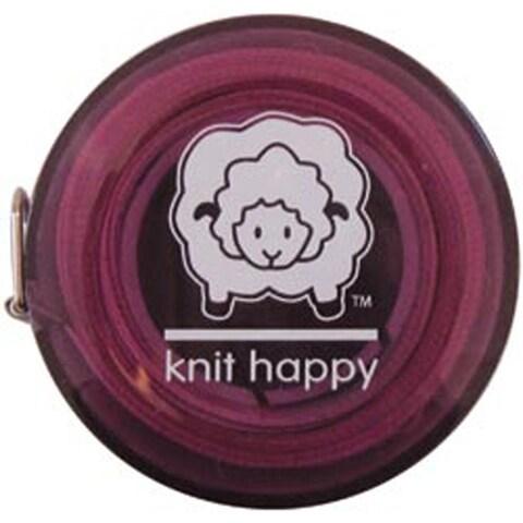 """Purple - Knit Happy Tape Measure 60"""""""