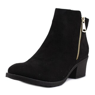 Reneeze Pama-1 Women  Round Toe Synthetic Black Ankle Boot