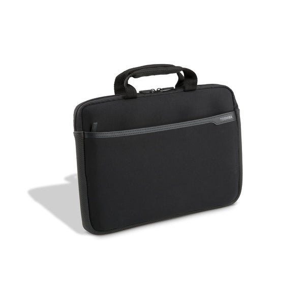 Toshiba 14 point 1 Inch Neoprene Case Black Carrying Case