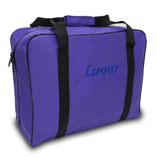 "Luova 14"" Sewing Tote For 3/4 Size Machines In Purple"