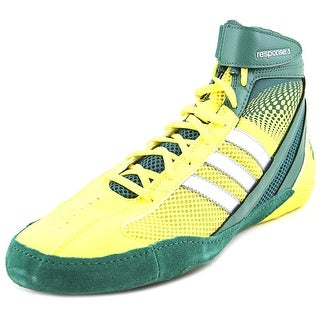 Adidas Response 3.1 Men Round Toe Synthetic Yellow Cross Training