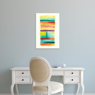 Easy Art Prints June Erica Vess's 'Layer Cake II' Premium Canvas Art