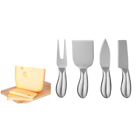 Cuisinart Stainless Steel Cheese Knife Set, 4-Piece Set - Stainless Steel