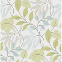 Brewster Meadow Peel and Stick Wallpaper Meadow Wall Pops Wallpaper - N/A