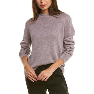 Link to Theory Solid Linen-Blend Sweater Similar Items in Outfits