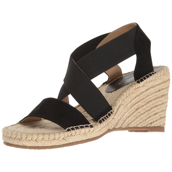 Adrienne Vittadini Footwear Women's Charlene Espadrille Wedge Sandal