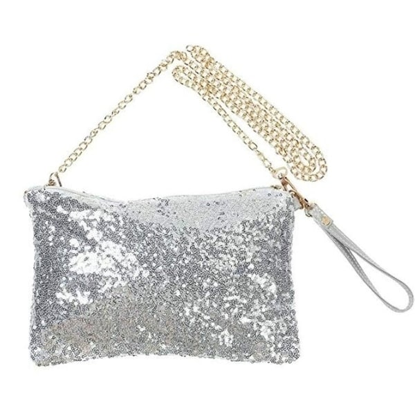 5ea83517ce Shop Fashion Glitter Sequin Bag Handbag Party Evening Clutch ...