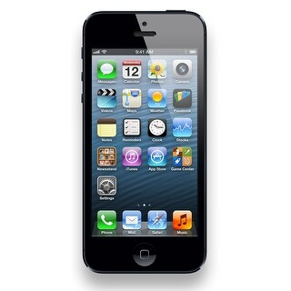 Apple iPhone 5 16GB Unlocked GSM LTE Dual-Core Phone w/ 8MP Camera - Black (Certified Refurbished)