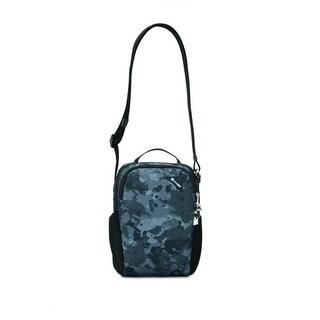 Pacsafe Vibe 200 - Grey Camo Anti-theft Compact Travel Bag