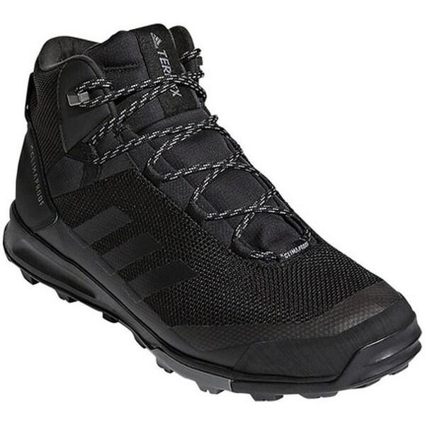 9eb961d809dc Shop adidas Men s Terrex Tivid Mid CP Hiking Shoe Black Black Grey ...