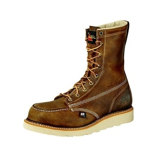Thorogood Work Boots Mens American Heritage EH ST Brown 804-4478