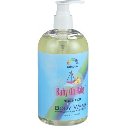 Rainbow Research - Baby Oh Baby Herbal Body Wash Scented ( 2 - 16 FZ)