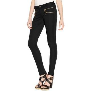 MICHAEL Michael Kors Womens Skinny Pants Zipper Pockets Stretch