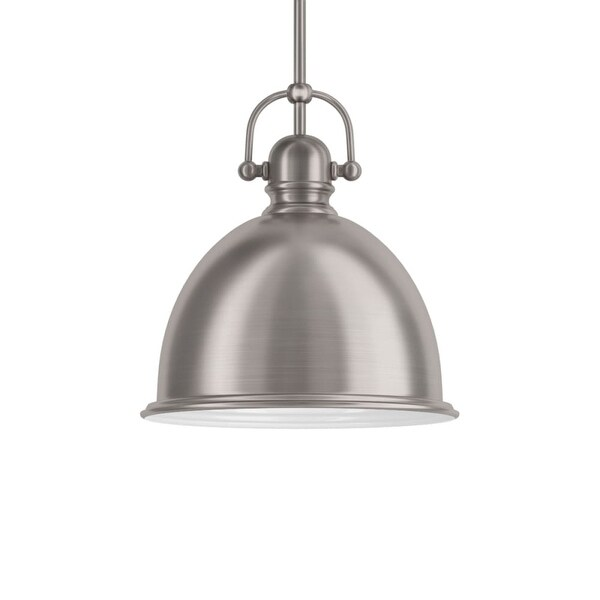 """Park Harbor PHPL5441 13"""" Wide 1-Light Single Pendant with Industrial Style Shade"""