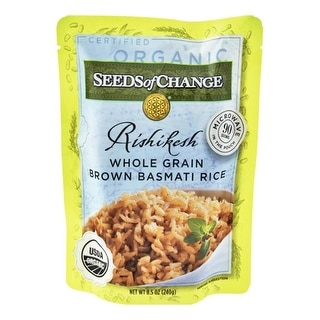 Seeds Of Change - Brown Basmati Rice ( 12 - 8.5 oz bags)
