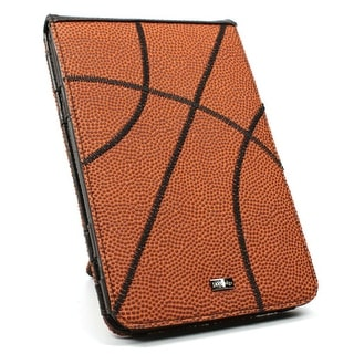 JAVOedge Basketball Flip Case for Amazon Kindle Keyboard (Kindle 3) - Orange