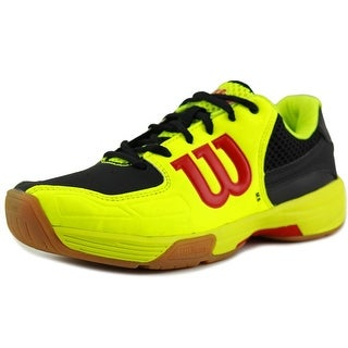 Wilson Recon Men Round Toe Synthetic Yellow Sneakers